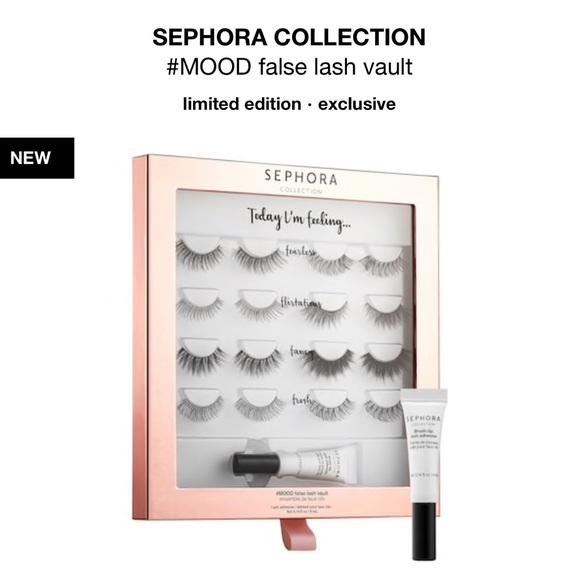 2e05dc994cc Sephora Makeup | Collection Mood False Lash Vault Brand New | Poshmark